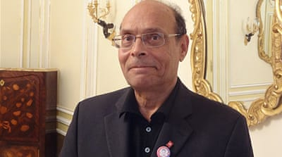 Moncef Marzouki receives the Chatham House award for his role in Tunisia's transition [Chatham House]