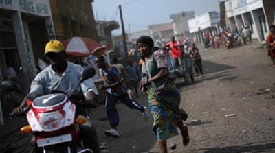 Many residents fled Goma as M23 rebels fought government troops for control of the city [AFP/Getty Images]