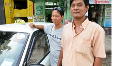 Myanmar's taxi service with a twist