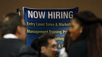 US posts 171,000 new jobs in October
