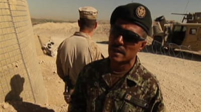 Afghan army's resolve tested in Helmand
