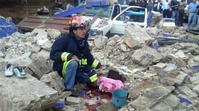 Dozens killed in Guatemala earthquake