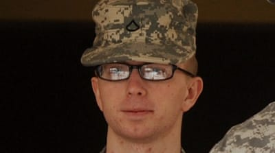 US Army Private Bradley Manning was arrested in May 2010 while serving as an army intelligence analyst [EPA]