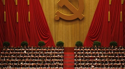 China resumes leadership transition talks