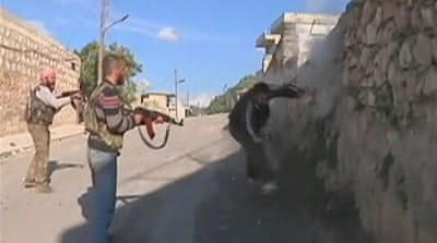 Syrian rebels 'kill unarmed man'