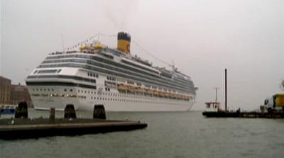 Cruise ships controversy in Venice