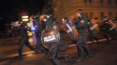 Dozens in Slovenia face charges after protest