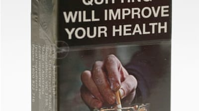 Australia stops branding cigarette packages
