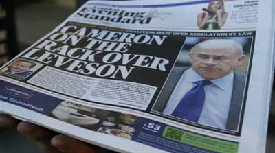 Leveson and the politics of press regulation