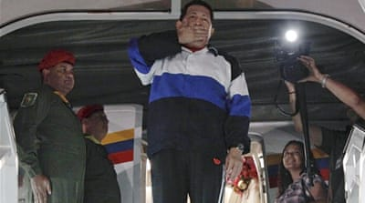 Venezuela's Chavez in 'delicate condition'