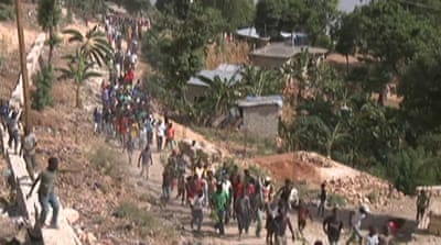 Haiti quake survivors have nowhere to go