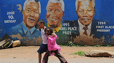 Nelson Mandela has been receiving medical treatment at Pretoria Military Hospital [AFP]