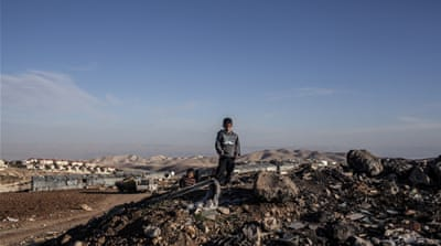 Israel expansion threatens West Bank Bedouin