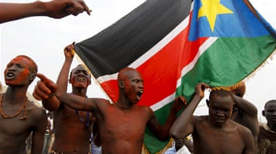 Protesters shot at by South Sudanese army