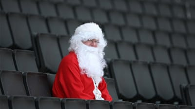No time to put your feet up: The festive period is a profitable time for clubs and administrators, not to mention a highlight for fans [GALLO/GETTY]