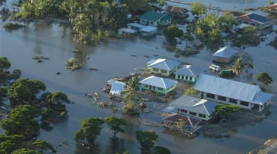 Flooding from natural disasters such as tropical cyclones and tsunamis are not unheard of in Samoa [EPA]