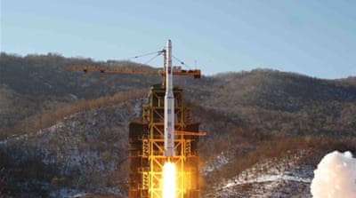 Some foreign powers fear the latest North Korean satellite launch was a veiled test for a long-range missile [AP]