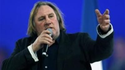 The Kremlin's website said Putin, right, had signed a decree granting Depardieu, left, Russian citizenship [Reuters]