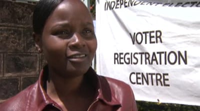 Fear and apathy mar Kenya voter registration