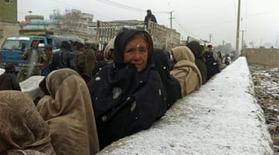 In pictures: At risk in Afghanistan's winter