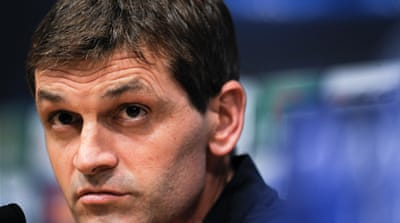 Tito Vilanova has led Barcelona to their best Spanish league start but faces a six-week layoff to undergo chemotherapy and radiotherapy [EPA]