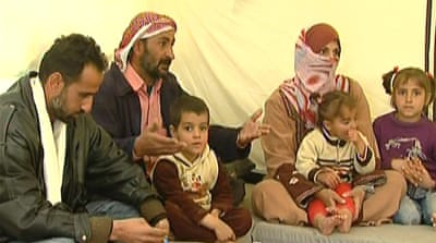 Syrian family's tough year away from home