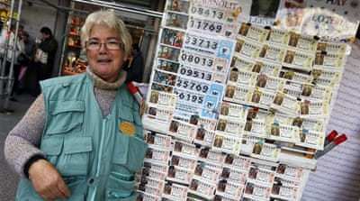 Spanish pin hopes on annual Christmas lottery