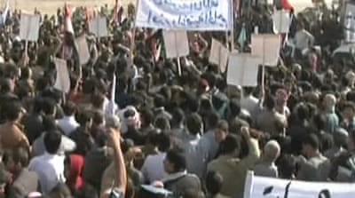 Iraqis protest against 'sectarian policies'