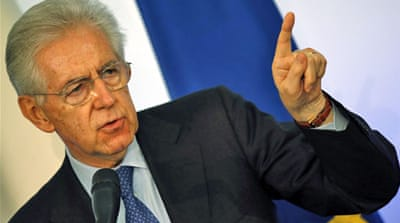 Mario Monti 'ready to lead Italy again'