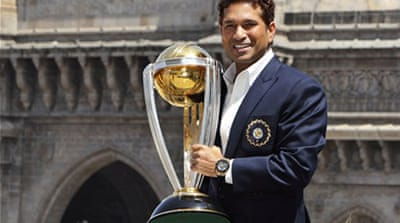 Tendulkar set the record as the highest run-scorer in ODIs with a total of 18,426 runs in 463 matches [Reuters]