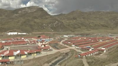 Chinese mining firm builds town in Peru