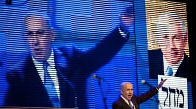 Israel's Netanyahu launches election campaign