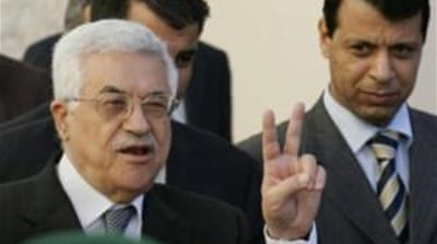 Abbas said he is willing to renew talks after Israel's election but demands a freeze on settlement construction [EPA]
