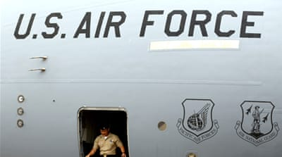 US deploys DU aircraft to Middle East