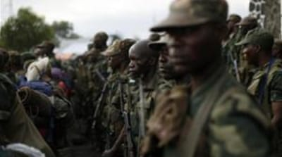 M23 rebels have remained camped just beyond the outskirts of Goma [EPA]
