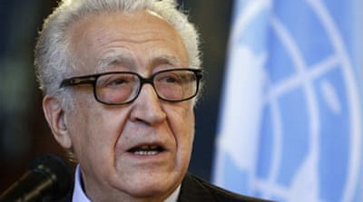 Brahimi says Syria 'must be' solved in 2013