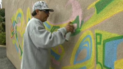 Graffiti art makes mark in Los Angeles