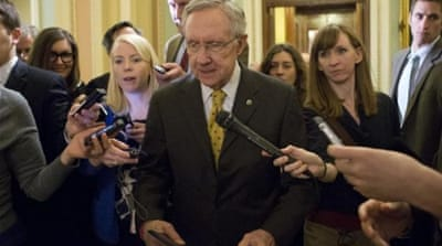US senators at impasse on 'fiscal cliff' deal