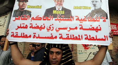 Has Morsi borrowed Mubarak's playbook?
