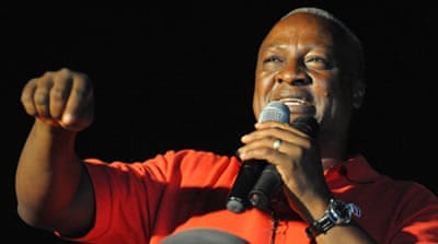 Mahama declared winner of Ghana election