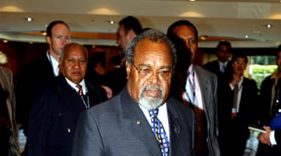 Political impasse in Papua New Guinea