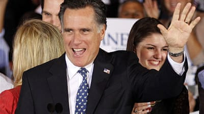 Romney targets Obama after Florida win