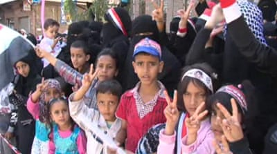 Yemen celebrates its year of protests