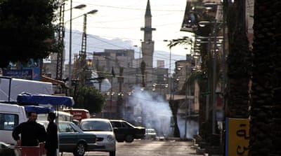 Syrian violence spills over into Lebanon