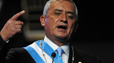 Guatemala president in call to legalise drugs