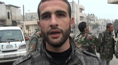 Syrian army defector speaks to Al Jazeera