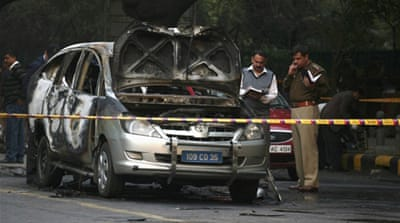 Who was behind the Delhi bombing?