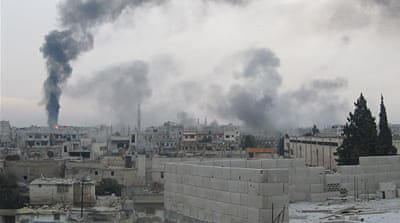 Bombardment of Syrian city continues
