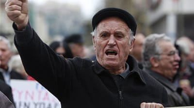 Debt crisis makes Greeks anxious