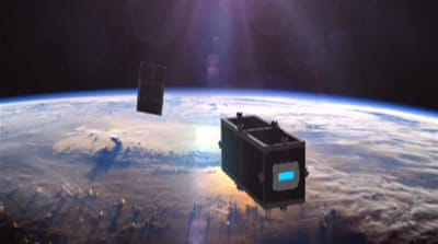 New satellites to clean space debris